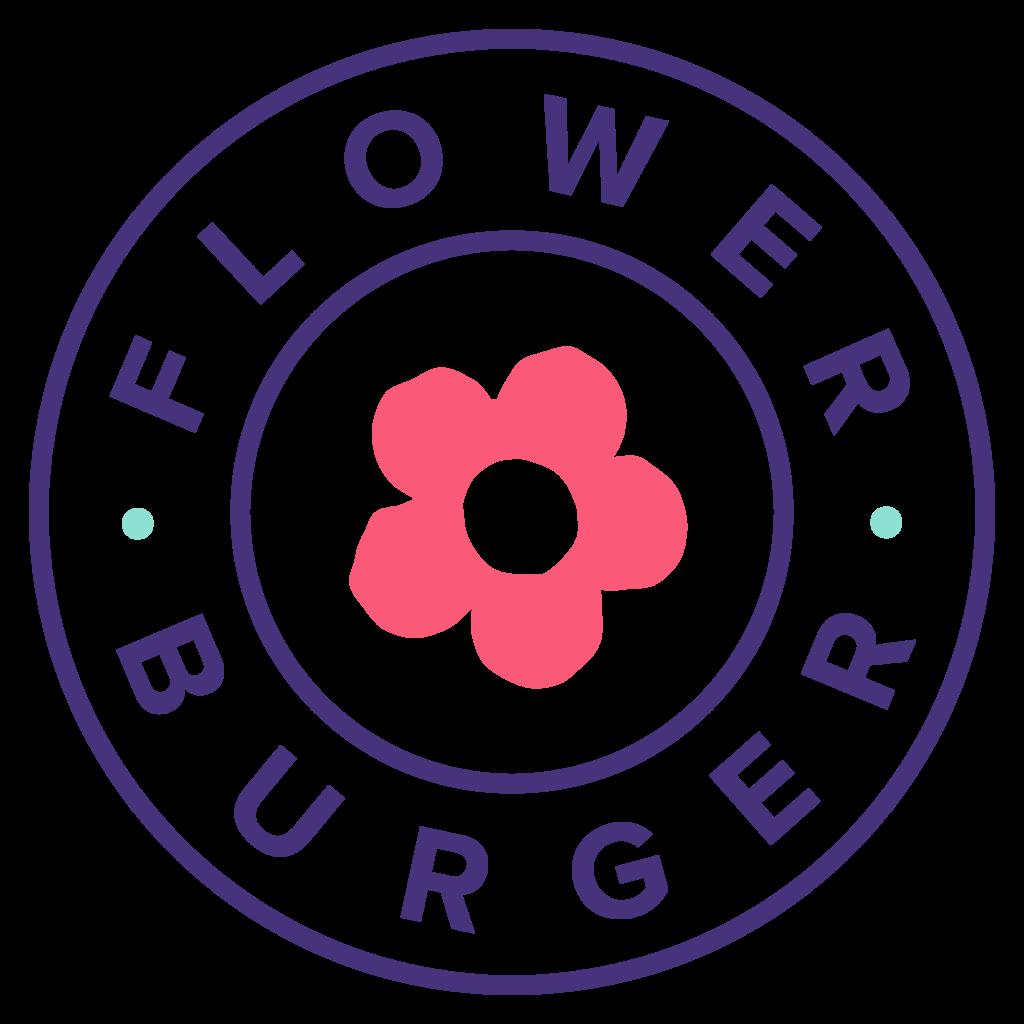 Logo Flower Burger