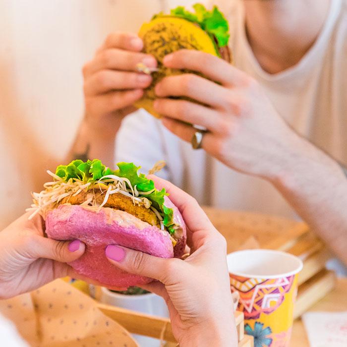 Flower Burger Vegan