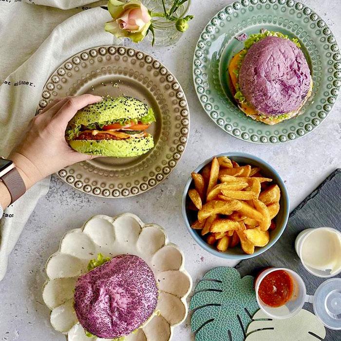 Réseau Flower Burger